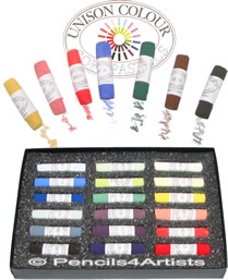 Unison Colour Soft Pastels - Singles