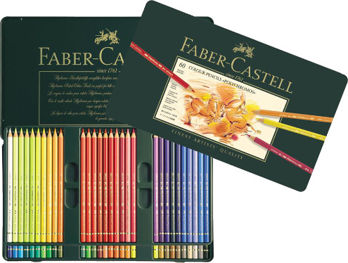 Faber Castell Polychromos Colour Pencils Tin 60