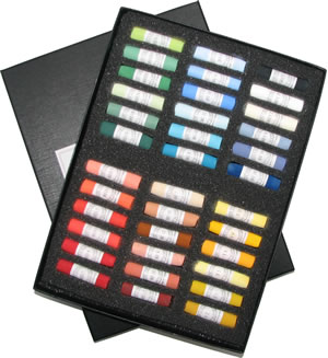 Unison Colour Hand Made Soft Pastels - Starter Set 36