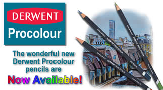 Derwent Procolour Pencils - Available NOW!
