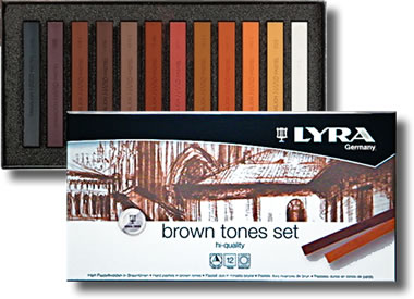 Lyra Pastels Set - Brown Tones - L5641121
