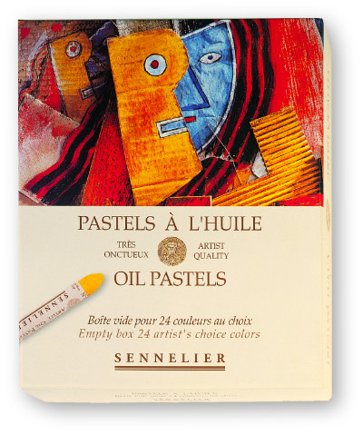 Empty Box for 24 Sennelier Oil Pastels