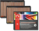 Caran D'Ache Luminance 6901 Permanent Colour Pencil Tin of 40