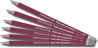 Cretacolor Cleos Graphite Pencils - singles