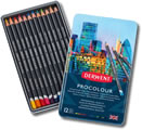 Derwent Procolour Pencils - Tin of 12