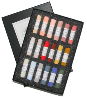 Unison Colour Hand Made Soft Pastels - Portrait Set 18