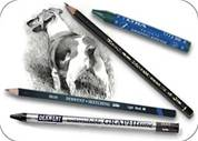 Watersoluble Graphite Pencils & Crayons