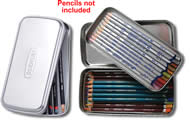 Derwent 2 Layer Pencil Tin