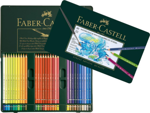 Faber Castell Albrecht Durer Watercolour Pencils Tin of 60