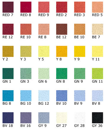 Unison Pastels Set of 36 Starter Colours