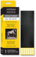 Nitram Charcoal single Bloc de saule 46mm x 15mm (Extra Soft)