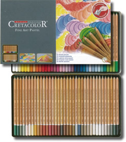 Cretacolor Pastel Pencils Tin of 72