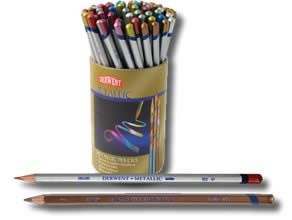 Derwent Metallic Pencils - Single Pencils