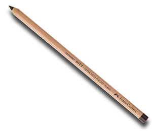 Faber Castell Pitt Pastel Pencil Oil Free Walnut Brown - singles