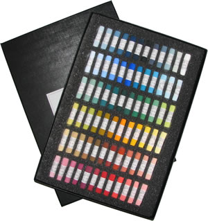 Unison Colour Hand Made Soft Pastels - Starter Set of 72