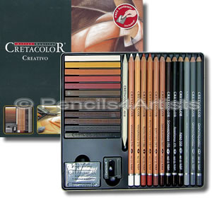 Cretacolor Creativo Sketching Set