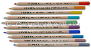 Lyra Rembrandt Polycolor Colour Pencils - singles