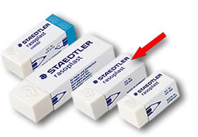 Staedtler Rasoplast Latex Free Eraser - Medium 526 B30