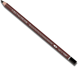 Cretacolor Black Pastel Pencil 460 12 - singles