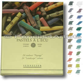 Sennelier Soft Pastels A L'Ecu - Box 24 Landscape Colours