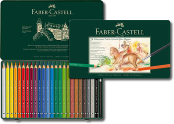 Faber Castell Albrecht Durer Magnus Watercolour Pencils Tin of 24