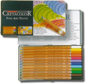 Cretacolor Pastel Pencils Tin of 12