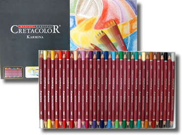 Cretacolor Karmina Fine Art Colour Pencils Tin of 36