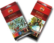 Koh I Noor Mondeluz Watercolour Pencils