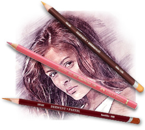 Pencils4artists Colour Compare Set of 12 Skintones