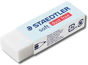 Staedtler Soft Dust Free Eraser Medium 526 S30
