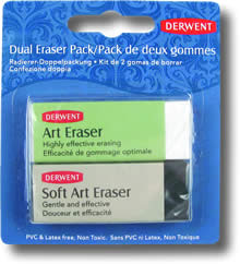 Derwent Dual Art Eraser - Pack of 2