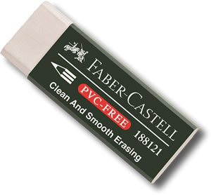 Faber Castell PVC Free Eraser 18 81 21