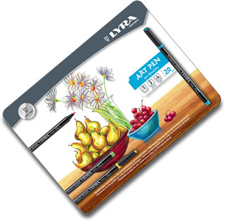 Lyra Art Pen - Tin of 20 L6751200