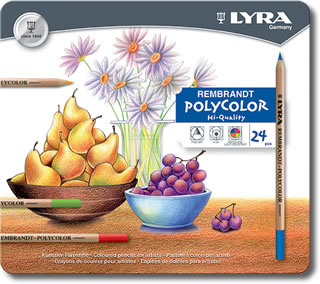 Lyra Rembrandt Polycolor Pencils Tin of 24