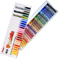Pentel Oil Pastels Box of 25