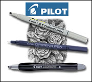 Pilot Drawing & Lettering Pens & Pencils