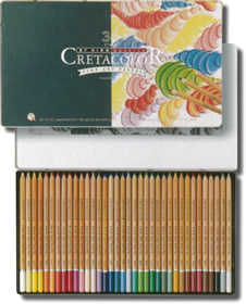 Cretacolor Pastel Pencils Tin of 36