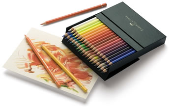Faber Castell Polychromos Colour Pencils Gift Box of 36