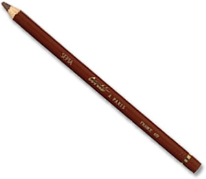 Conte 617 Sepia Drawing Pencil - singles
