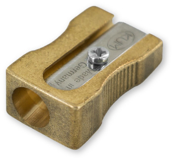 Kum Single Hole Brass Sharpener