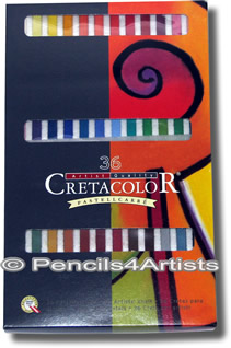 Cretacolor Pastel Carres Set of 36 Assorted