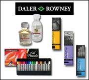 Daler Rowney Charcoals, Pastels & Mediums