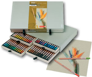Design By Bruynzeel Sakura Pastel Pencil Range - Box 48