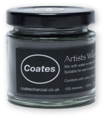 Coates Artist Willow Charcoal Powder - 125ml