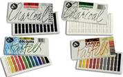 Jakar Soft Pastel & Compressed Charcoal Sets