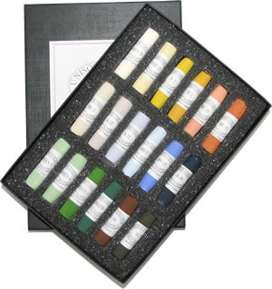 Unison Colour Hand Made Soft Pastels - Landscape Set 18