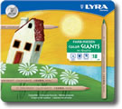 Lyra Color Giants Tin of 18 - Wood Barrel