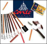 Conté � Paris Carres Crayons & Sketching Pencils