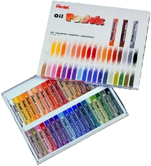 Pentel Oil pastels Box of 36