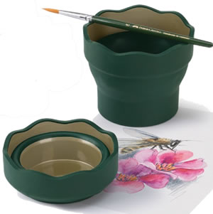 Faber Castell Clic & Go Water pot or pencil holder
